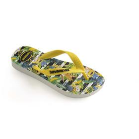 havaianas Minions sandaalit Lapset, white/citrus yellow